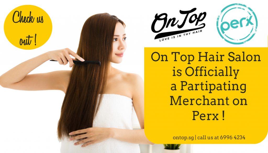 On Top Hair Salon Perx banner